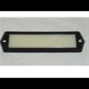 64-72 Lens - Dome Lamp - Black Trim