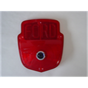 53-66 Lens - Taillight - Stepside - w/ Ford Block letters & Blue Dot