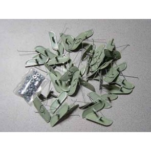 65-66 Clip Kit - Molding - Styleside Longbed