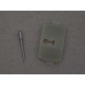 73-79 Clip - Fender, Door, Bed Molding - Plastic OE Tooling