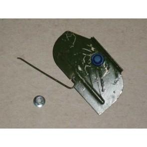 80-86 Clip - Body Side Lower Door  Molding - Metal