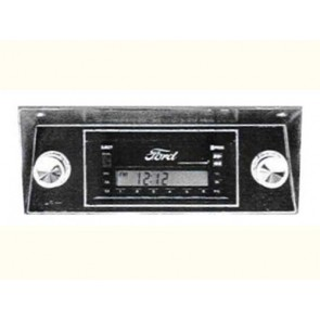68-86 AM/FM Stereo w/ Ford Logo - Model 1A