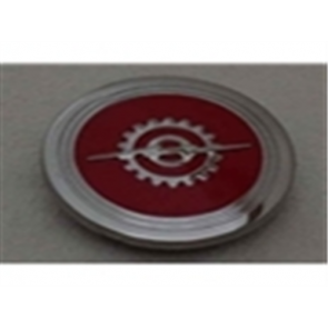 53-60 Horn Button - 2WD - Red