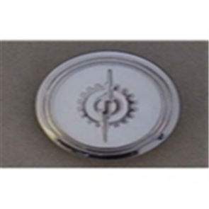 53-60 Horn Button - 2WD - White