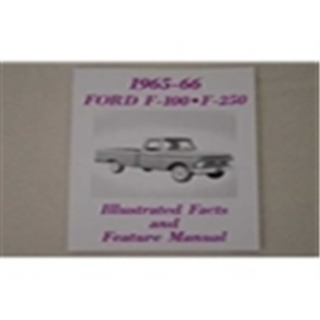 1965-66 FORD TRK ILL. FACTS/FEATURES MANUAL