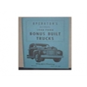 1948 FORD TRUCK OWNERS MANUAL