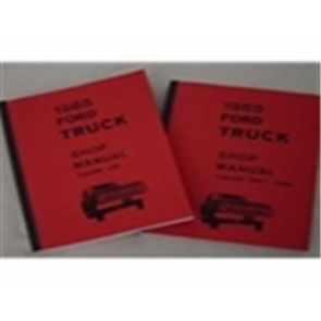 1965 FORD TRUCK SHOP MANUAL (3 V SET)