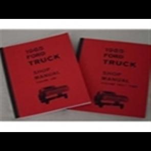 1965 FORD TRUCK SHOP MANUAL (3 V SET)