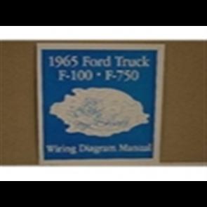 1965 FORD TRUCK WIRING DIAGRAM MANUAL