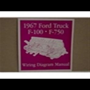 1967 FORD TRUCK WIRING DIAGRAM MANUAL