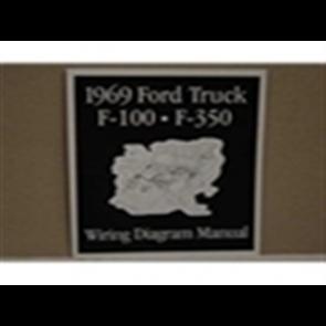 1969 FORD TRUCK WIRING DIAGRAM MANUAL