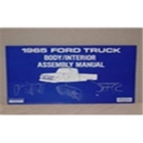 1965 FORD TRUCK BODY/INT. ASSY.MANUAL