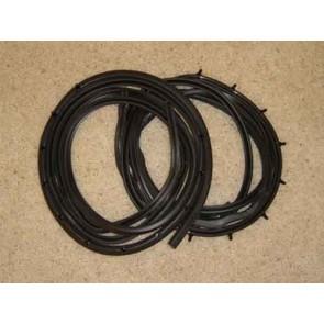 61-66 Weatherstrip - Door Weatherstrip - two door kit, LH & RH, 1 pair