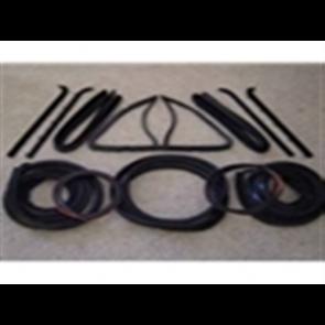80-86 Weatherstrip -  Kit - Black