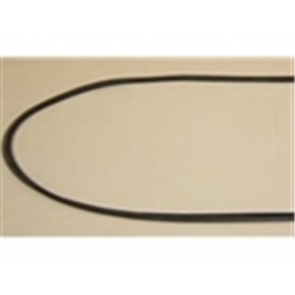 57-60 Weatherstrip - Windshield - w/strip, accepts trim