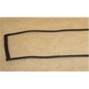 77-79 Weatherstrip - Windshield - w/strip, accepts trim, for plastic chrome