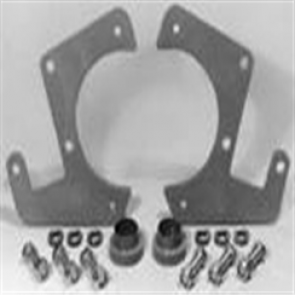 48-56 BasicFront Disc Brake Bracket Kit (4.5 bolt circle)
