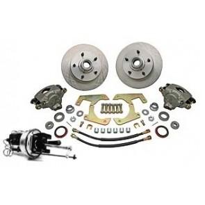 48-56 Complete Power Disc Brake Kit - 5 on 4 1/2
